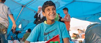 UNICEF, dünya her çocuk için güvenli bir yer olana kadar durmadan çalışmaya devam edecek. Bizim işimiz; çocukların temel ve acil ihtiyaçlarını gidermenin yanı sıra, çocuk hakları açısından kalıcı değişiklik yaratan uzun soluklu bir değişim yaratmak.