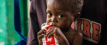 85 TL bağışınla her ay 10 çocuğa bir günlük tedavi edici besin sağlayabilirsin.