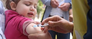 450 TL bağışınla 150 çocuğu ölümcül kızamık hastalığından koruyabilirsin.